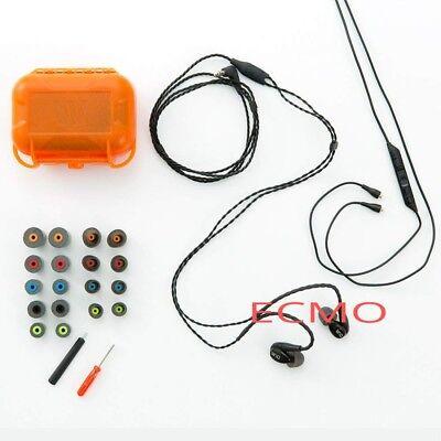 Westone W10 Balanced Armature Earphones, 3-Button Apple Controls Mic - 78501 NEW Apple 3 Button Mic