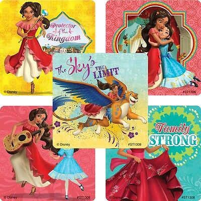 Elena of Avalor Stickers x 5 - Birthday Party - Favours - Loot Ideas - Princess