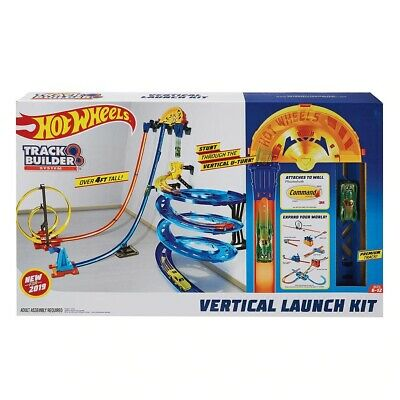 NEW Hot Wheels Track Builder Vertical Launch Kit Premium Playset Birthday Gift