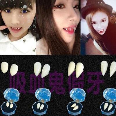 1 Pair Halloween Props Cosplay Gothic Vampire Zombie Masquerade Teeth Cosplay - Halloween Zombie Teeth