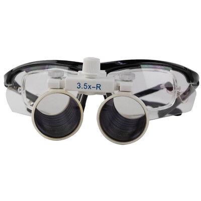 3.5x Dental Loupes Surgical Binocular Optical Fit Prescription Lenses Cv-293