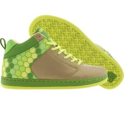 $130.00 JB Classics Peddler Mids 3M Hex-Plated brushed gold  green apple  electr