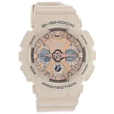 Casio G-Shock Ladies Ana/Dig World Time Quartz Watch GMAS120MF-4A