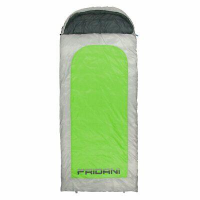 Schlafsack BG 235x110 XXL Deckenschlafsack Grün -22°C wasserabweisend