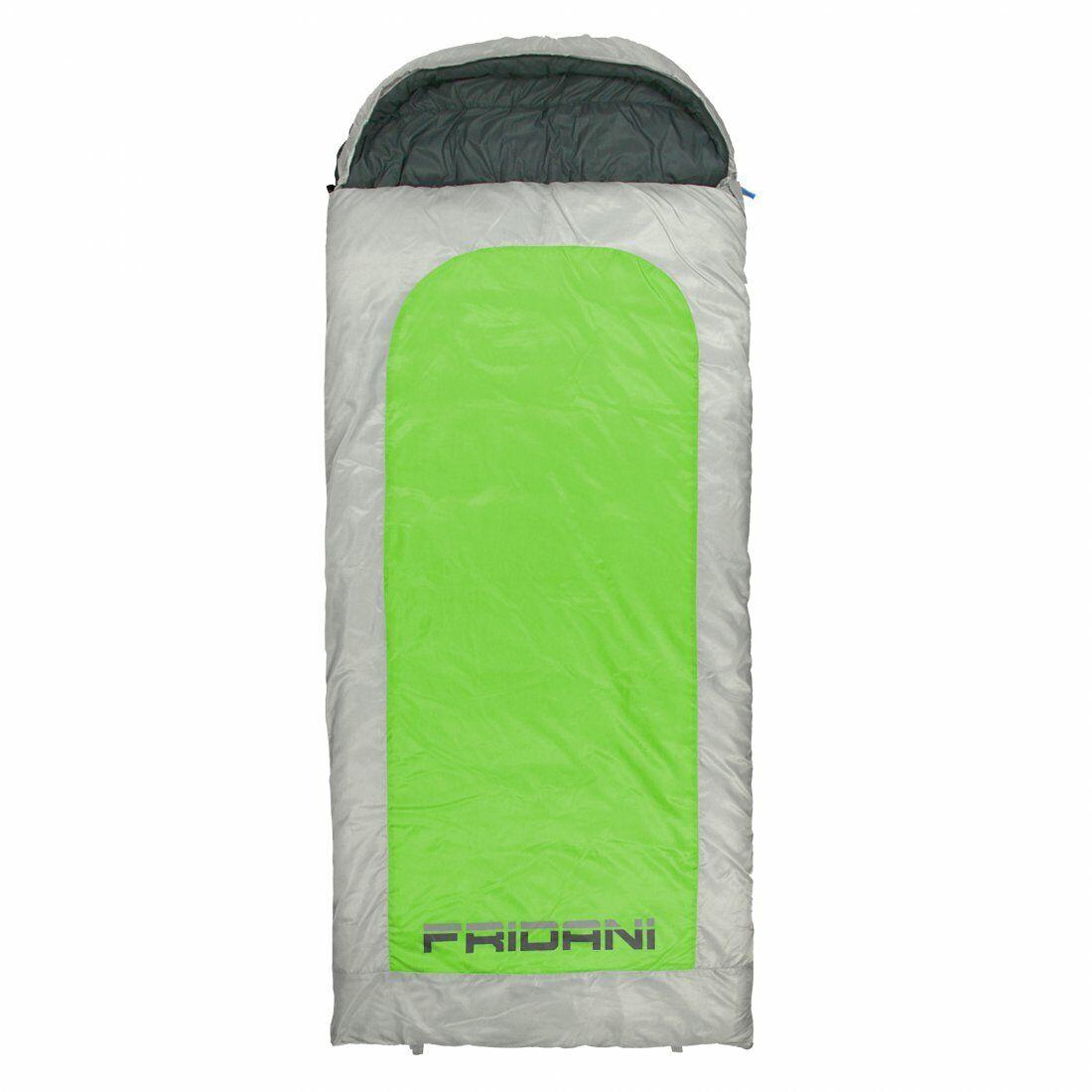 Schlafsack BG 235x110 XXL Deckenschlafsack Grün -22°C wasserabweisend waschbar