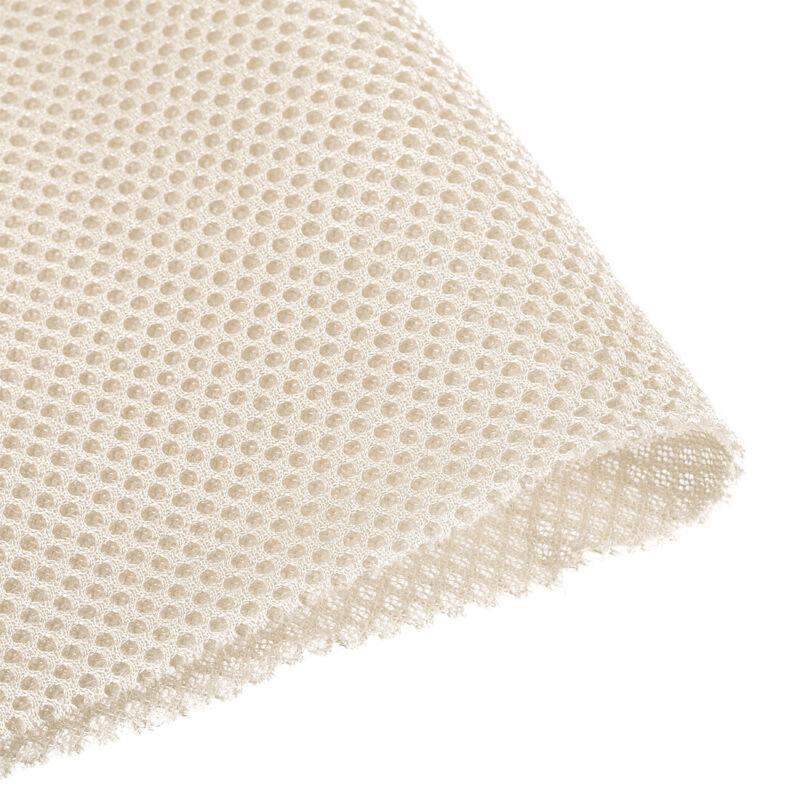 "Beige Speaker Mesh Grill Stereo Fabric Dustproof 100cm x 160cm 40 inch x 63"" inc"