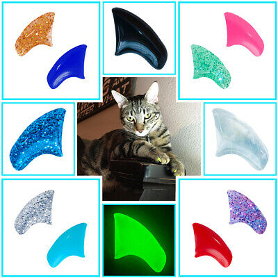 Soft Nail Caps for Cat Paws - 90 Day Supply Complete Kit - Pretty Claws - Capping Kit