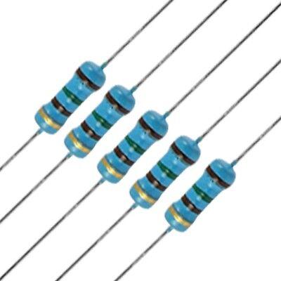 10 X 100 Ohm Metal Film Resistors - 14 Watt - 1 - 100r - Fast Usa Shipping