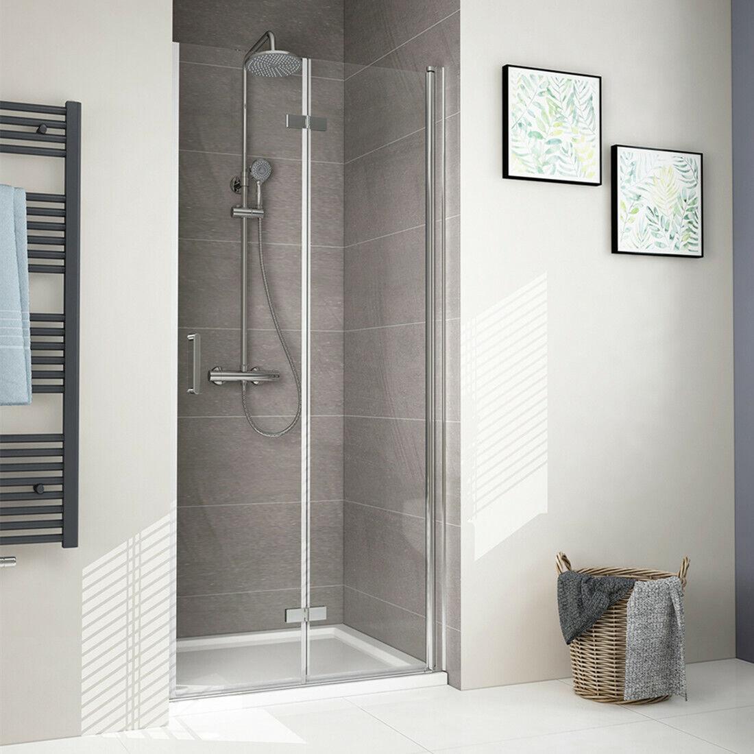Duschabtrennung Nische Duschkabine Falttüren Duschtür Nischentür Dusche 6mm Glas