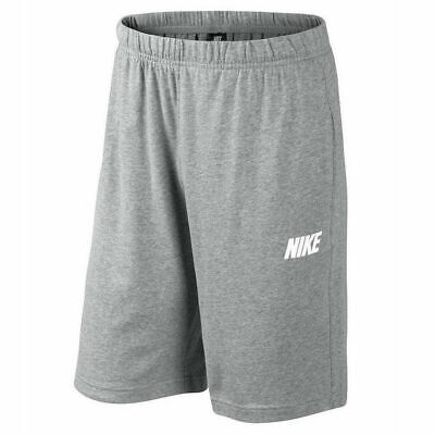Nike Shorts Knielang Herren Grau Vlies Fleece 700900 063