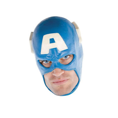 Captain America Marvel Adult Full Costume Mask