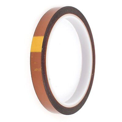 10mm 100ft Bga High Temperature Heat Resistant Polyimide Gold Kapton Tape Ca
