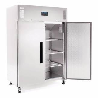 2 Door Upright Freezer 1200Ltr