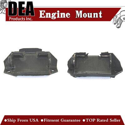 DEA 2pcs Engine Motor Mount Front Left&RightSet For Pontiac Firebird (1967 Pontiac Firebird Engine)