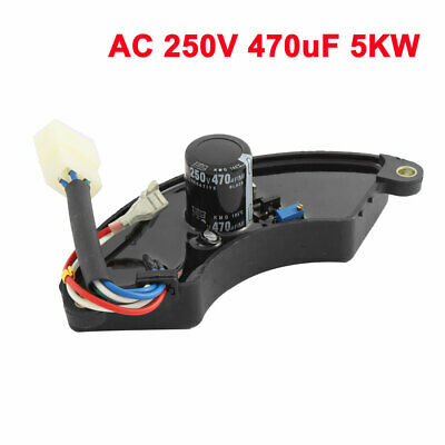 Ac 250v 470uf 5kw Automatic Voltage Motorcycle Generator Regulator