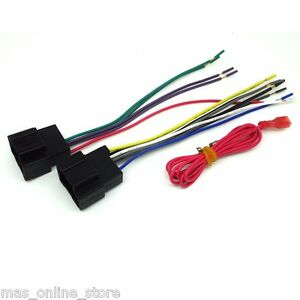 silverado wiring harness radio stereo installation wiring harness for general motors fits silverado 2500 hd