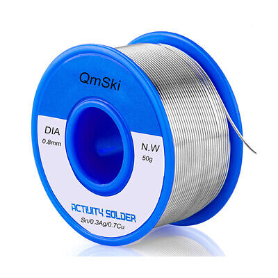 50g Solder Wire Lead Free Solder Rosin Core Tin Wire For Electrical Soldering