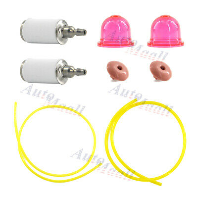 Primer Bulb Fuel Filter Line Hose Check Valve for Craftsman 358791010 358794776