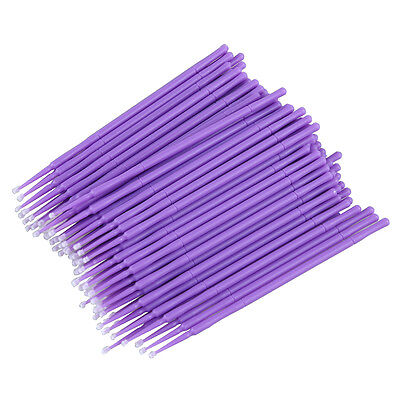 100 x Easy Disposable Eyelash Brush Mascara Wands Lash Extension Applicator UK