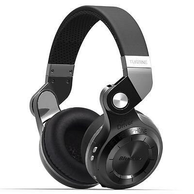 Bluedio Turbine T2S Wireless Headphone Bluetooth 4.1 Stereo Headsets ,Mic Boycott