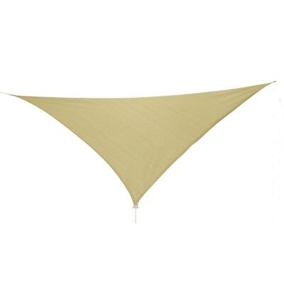 10T Emerson 500 - Triangle sun awning tarp, 500cm, knitted fabric, 90% UV-protec