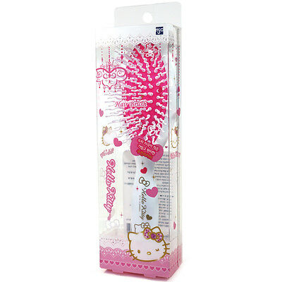 Hello Kitty Oval Cushion Hair Brush Styling Curling Plastic Comb HK078