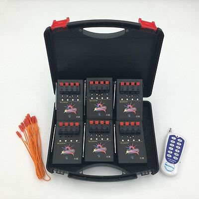 Hot 24 Cue  Fireworks Wireless Electronic Firing system Remote control wedding