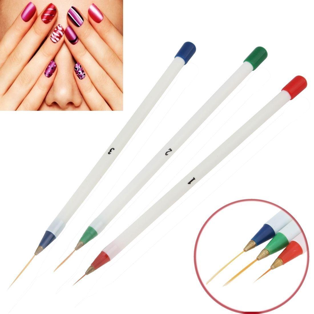 Кисточки для рисунков на ногтях фото