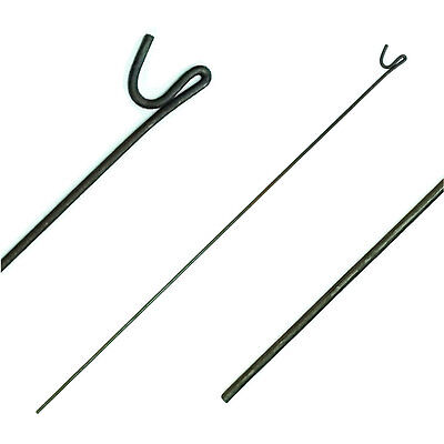 100 METAL STEEL FENCING PINS ROAD PINS STAKES POSTS 1.25m for Temporary Fencing
