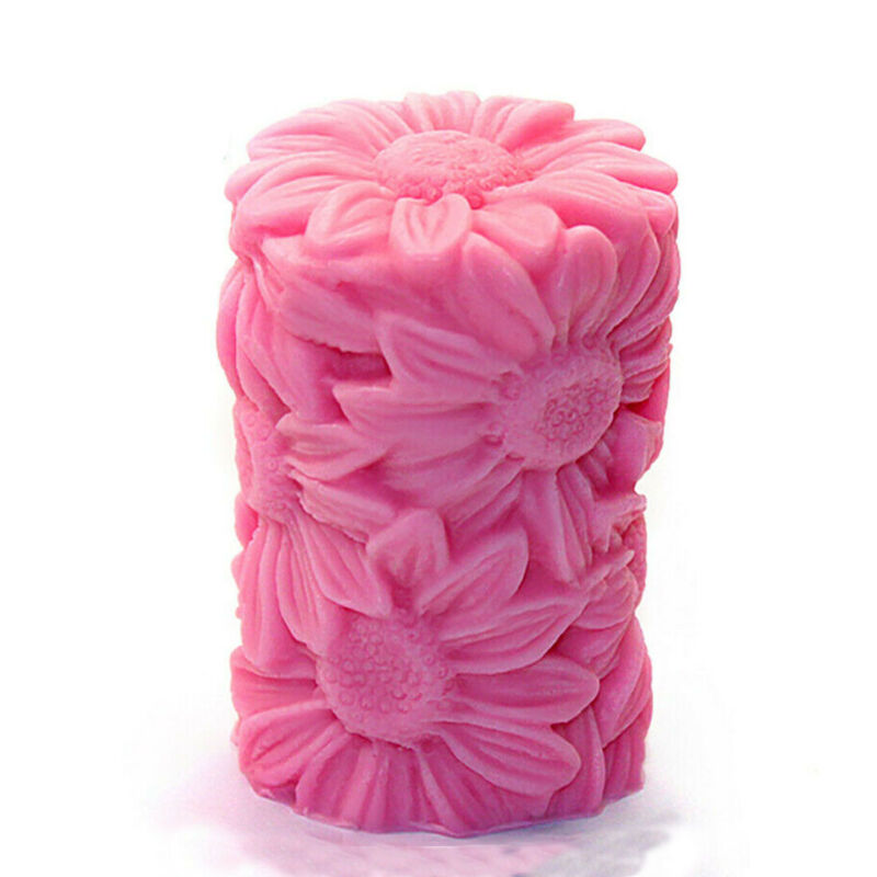 3D Flower Candle Molds Silicone Diy Craft Antique Candle Molds for Candle Making