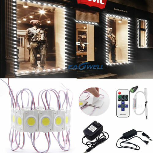 10 / 40ft 9 LED COB Module Strip Light Xmas Decoration DC 12