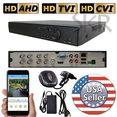 Sikker Standalone 8 Ch Channel DVR Security Camera Recorder