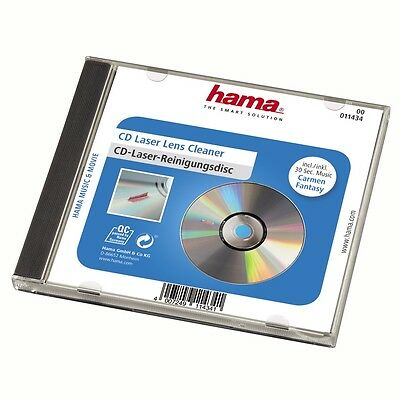 Cd Lens Cleaner (Hama CD DVD Laser Lens Cleaner Cleaning Disc)