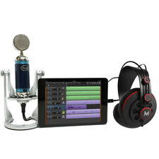 Blue Spark Digital Microphone  + Studio Headphones Mic Recording Bundle