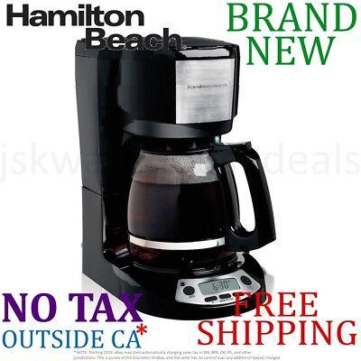 *New* Hamilton Beach 12-Cup Programmable COFFEE MAKER Auto S