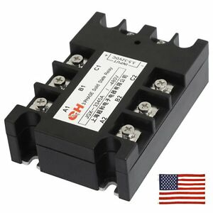 Phase Solid State Relay EBay - Solid state relay ebay
