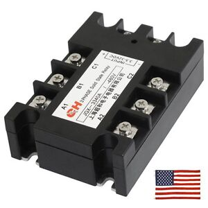 3 Phase Solid State Relay eBay