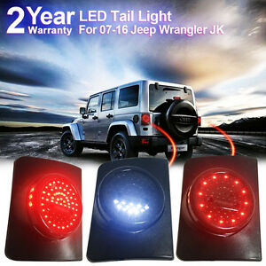 Firebug Jeep Wrangler LED Tail Light, Jeep JK Rear Led Lights, JKU Brake lights