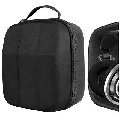 Full Size Hard Shell Large Headphone Case for Over-Ear, DJ,