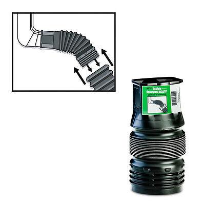 FLEX-Drain 53202 Corrugated Flexible Downspout Connector, 2″ x 3″ x 4″ Home & Garden