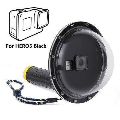 Dome Port Underwater Diving Camera Lens Cover for GoPro Hero 5 6 7 Black (Underwater Lens Port)