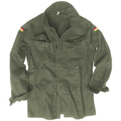 Mil-Tec BW German Army Tactical Moleskin Mens Shirt Combat Military Jacket Olive (Moleskin Shirt Jacket)