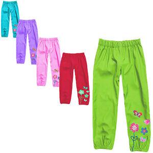 Toddler & Child Rain Waterproof Pants Kids Girls Clothes