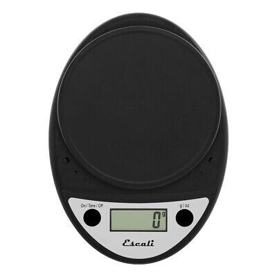 Escali Primo Digital Scale, 11 Lb / 5 Kg, Black, 1 ea