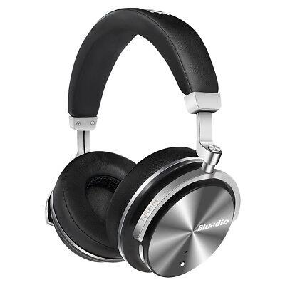 BLUEDIO T4S Bluetooth Headphones Wireless Headphones With Noise Cancelling
