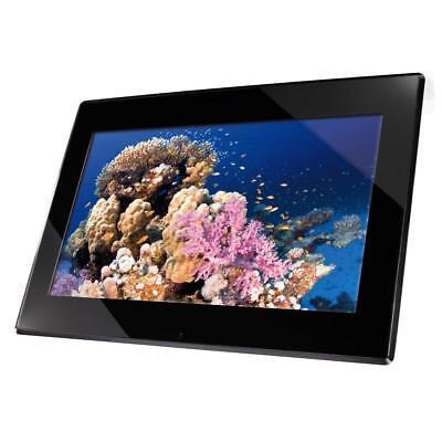 Hama 95230 Slimline Premium Digitaler Bilderrahmen 15 Zoll 38cm