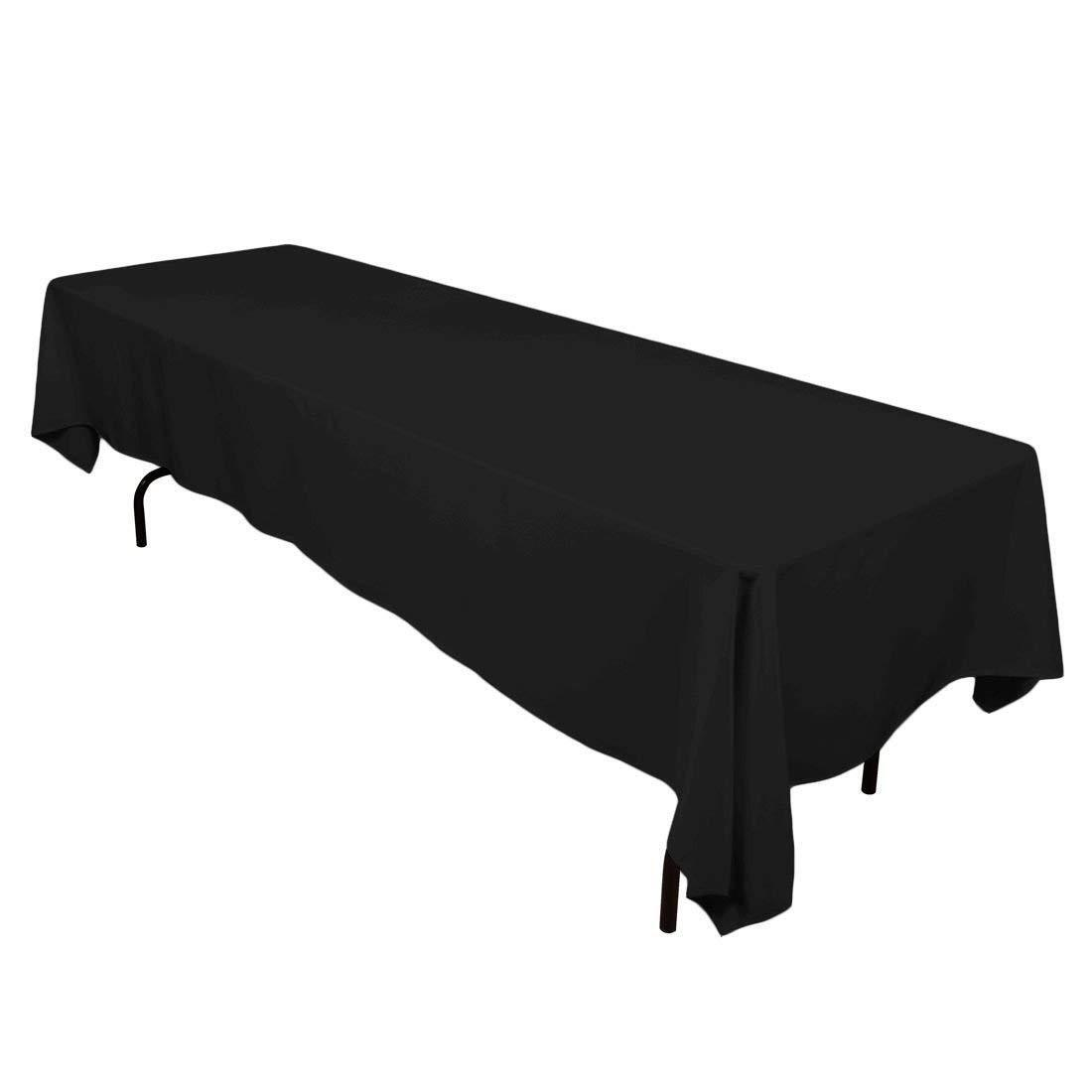 Rectangle Tablecloth for Table Cloth in Washable Polyester-G