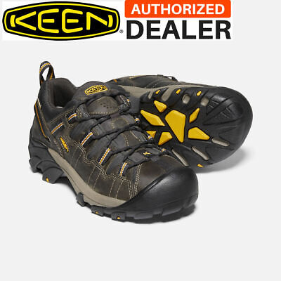 🔥KEEN TARGHEE II Men's Waterproof Hiking Boots Shoes RAVEN/TAWNY OLIVE NEW!