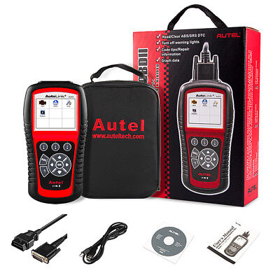 Autel AL619 ABS Airbag SRS Reset OBD2 Diagnostic Tool Car Code Reader Scanner US
