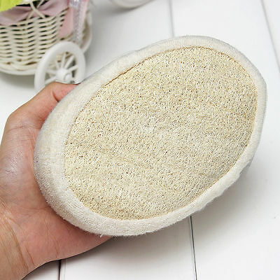 Natural Loofah Luffa Pad Body Skin Exfoliat Scrubber   Delivered 3 Days BUY (Day Pad Natural)